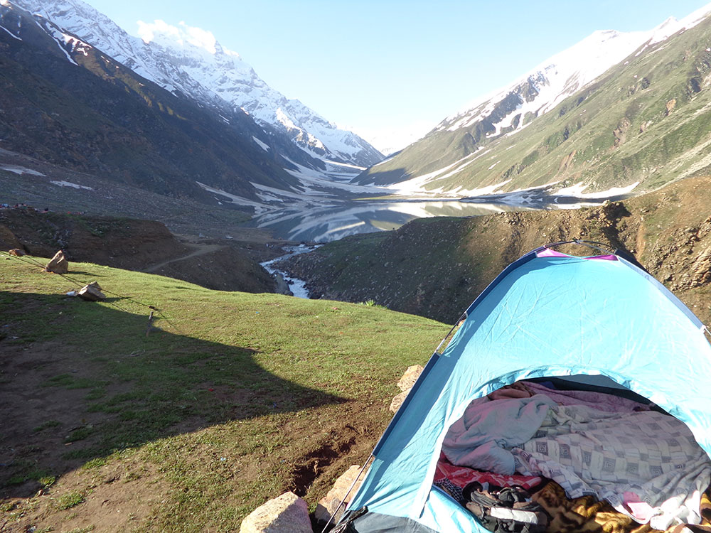 Lake Saif-ul-Malook Our-Camp