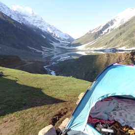 Lake Saif-ul-Malook Our-Camp